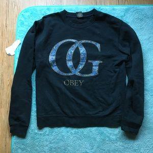 Urban Outfitters x Obey OG Crewneck Sweatshirt